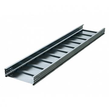 Лоток листовой неперфорированный 200x600х3000 лонжерон 1.5мм цинк-ламельный (UNM326ZL) UNM326ZL DKC