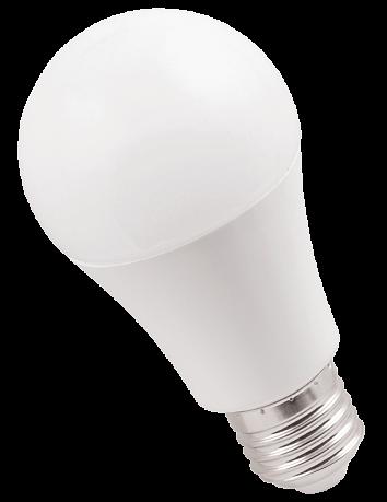 Лампа светодиодная ECO A60 шар 11Вт 230В 4000К E27 IEK LLE-A60-11-230-40-E27 IEK