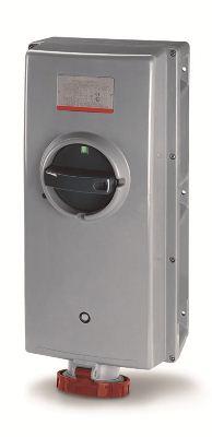 Розетка настенная механическая блокировка автоматический выключатель реле дифференциального тока (DIS50312587RM) DIS50312587RM DKC