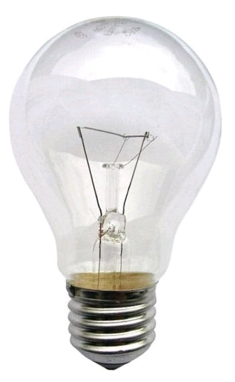 Лампа общего назначения ЛОН 220В 25Вт E-27 (уп по 154шт)  Лисма