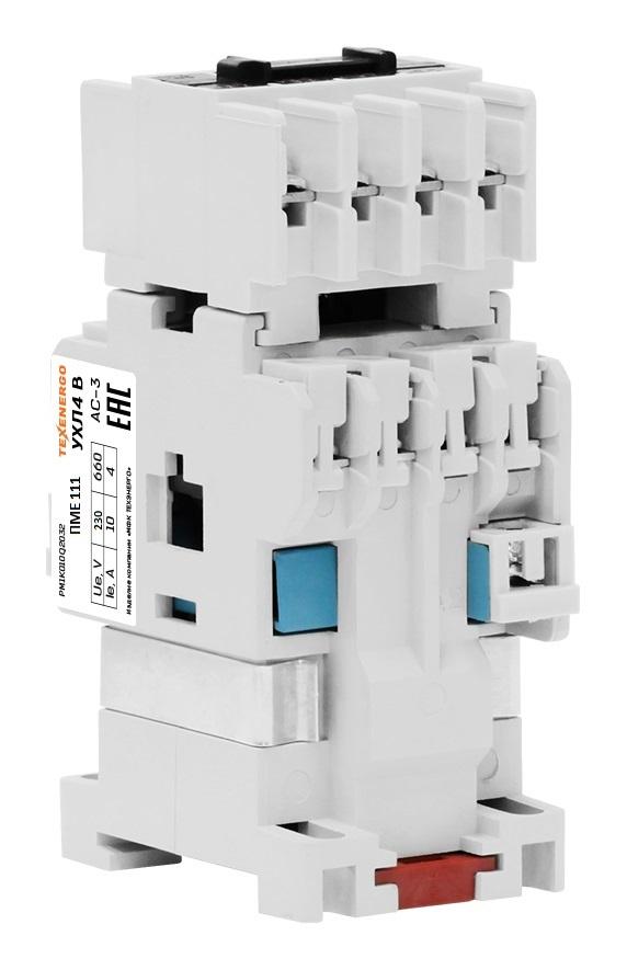 Пускатель электромагнитный ПМЕ 111 380B 3з+2р PM1E10Q Texenergo