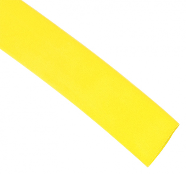 Термоусаживаемая трубка ТУТ  30/15         желтый (уп. по 25м) TT30-25-K05 Texenergo