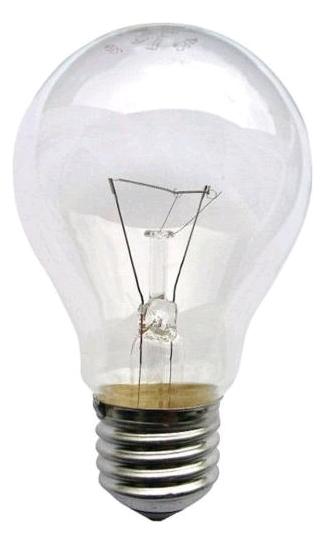 Лампа общего назначения ЛОН 220В 75Вт E-27 (уп по 100шт) LB-LON75M27L Лисма