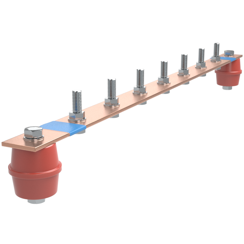 Шина нулевая 200А 13 присоединений EBN-200-13 Texenergo
