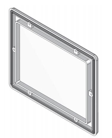 Окно смотровое из поликарбоната, пластиковое 151х190мм 718.V1 Oskar