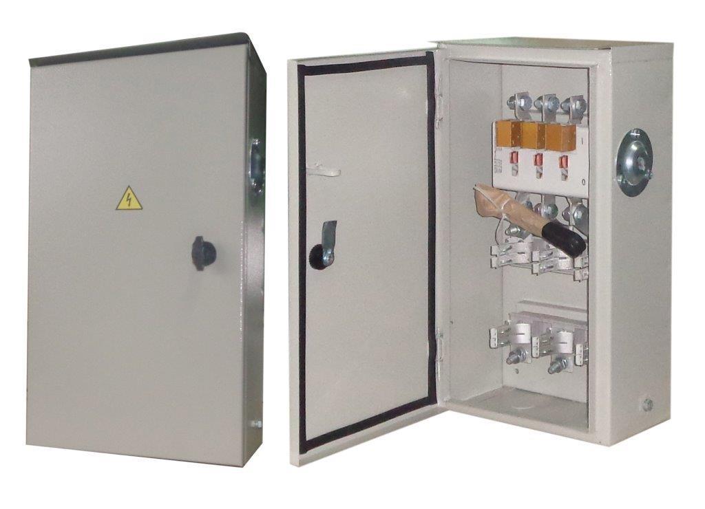 Ящик с рубильником ЯРП 100А IP54 без ПН-2 (ЯРП11М311У) SRZL31-27 Россия