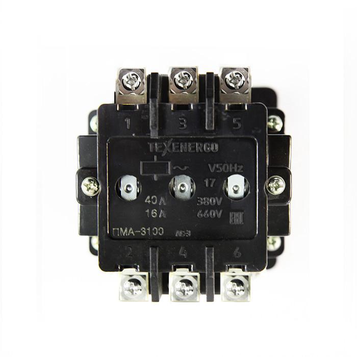 Контактор электромагнитный ПМА 3100 380В 1з+1р  Texenergo