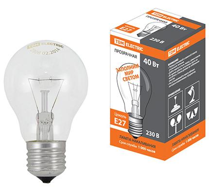 Лампа МО 12 В 40 Вт SQ0343-0027 TDM Electric