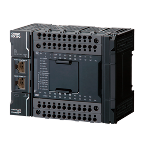 NX1P2-1140DT Контроллер NX1P,  1,5 Мб памяти программ, 2 Мб памяти данных, 24 вх/16 вых (NPN), до 8 модулей NX, управление движением до 4 осей, 1 x EtherNet/IP, 1xEtherCAT, 1 x слот для карты SD, 2 опц. порта, питание 24 В= Контроллер NX1P,  1,5 Мб памяти программ, 2 Мб памяти данных, 24 вх/16 вых (NPN), до 8 модулей NX, управление движением до 4 осей, 1 x EtherNet/IP, 1xEtherCAT, 1 x слот для карты SD, 2 опц. порта, питание 24 В= 672510 Omron