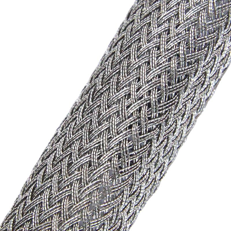 Медная эластичная кабельная оплётка SES-015 (15,0мм.) серая EKO-SES-015 Texenergo
