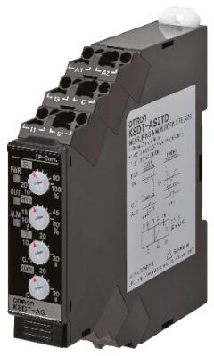 K8DT-AS3TD K8DTAS3TD Реле контроля серии K8DT, однофазное, с функцией контроля тока, диапазоны входного сигнала: от 10 до 200 A AC, транзисторный выход, питание 24 VDC Реле контроля 669517 Omron